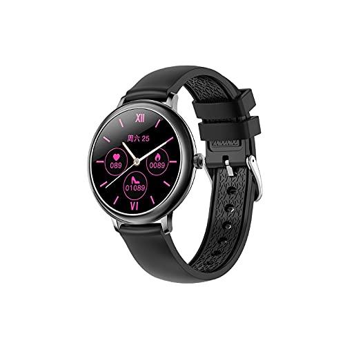 """Ydh Smartwatch für Damen, 1,09\"""" Touchscreen Smartwatch, IP67 WaterproofTracker-Uhr mit austauschbarem Armband, Pulsmesser-Handgelenk-Aktivitäts-Tracker für IO-S"""