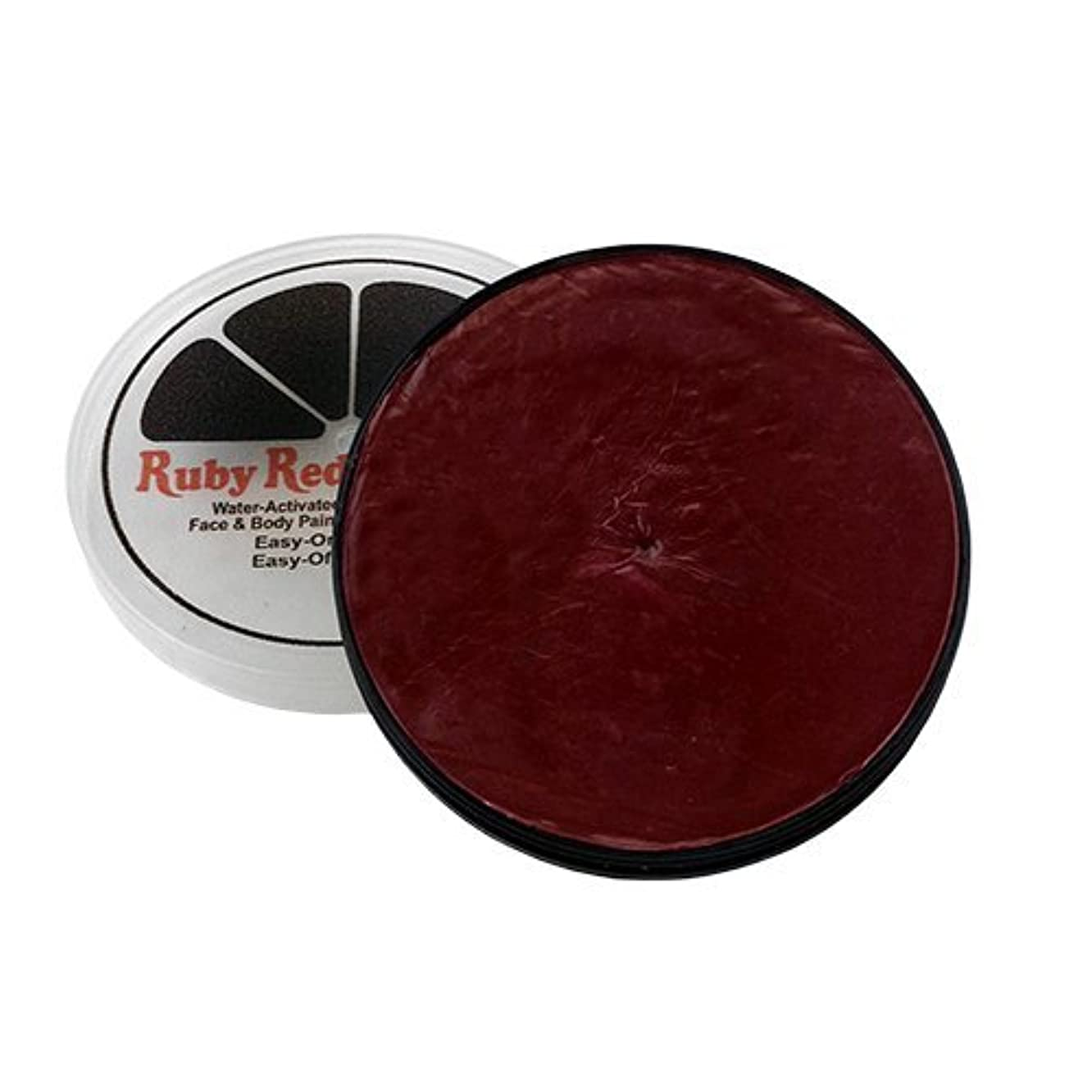 Ruby Red Paint Face Paint, 18 ML - Burgundy