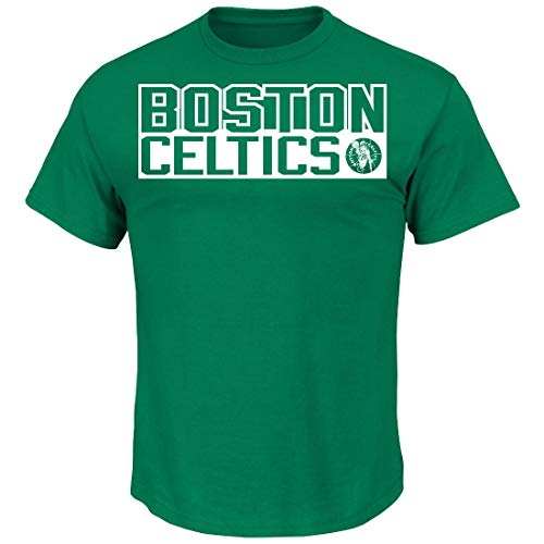 VF Larry Bird Boston Celtics Majestic NBA Custom Throwback Player T-Shirt (Small)