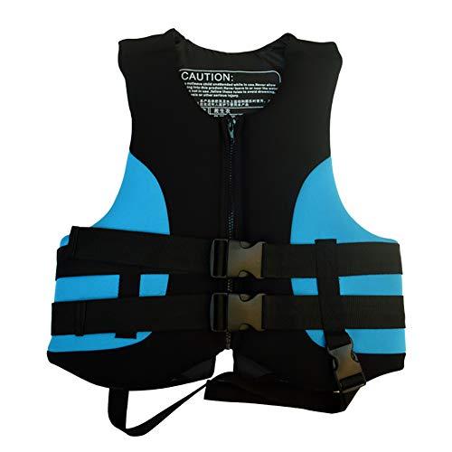 SXZSB Chalecos Salvavidas, Chaleco De Flotabilidad para Adultos, para Natación, Navegación, Pesca, Kayak, Chaleco Salvavidas, Chaleco Salvavidas,Azul,M