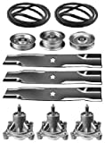 Lawnmowers Parts & Accessories New Sears Craftsman GT5000 48' Lawn Mower Deck Rebuild Kit 174356 173921 174368