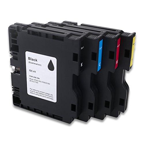 Cartuchos de tinta de sublimación Hemei@ GC41 compatibles