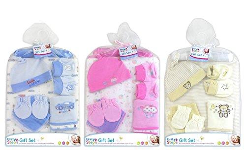 Coffret cadeau bébé Lot de 9Choix de trois One Livré Veuillez MSG Choix