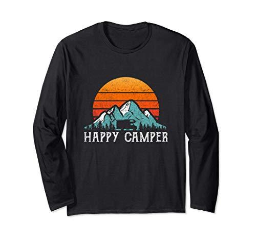 Happy Camper - Autocaravana Camping Manga Larga