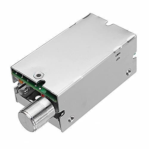 ScottDecor electrónica DC Motor Gobernador con regulación de velocidad continua de polaridad inversa protección CCM5NJ 10A electrónica kit