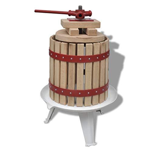 Kjzeex Obst- und Weinpresse 12 L