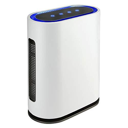generatore di ozono hepa gridinlux Ozono | Filtro HEPA | Generatore di ozono intelligente | Purificatore d'aria | 4 filtri ad alta efficienza | Luce ultravioletta | Telecomando | Sensore di inquinamento | 4 potenze | 60 W