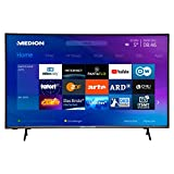 MEDION X14380 108 cm (43 Zoll) UHD Fernseher (Smart-TV, 4K Ultra HD, HDR 10, Micro Dimming, Netflix, Prime Video, WLAN, PVR, Bluetooth)