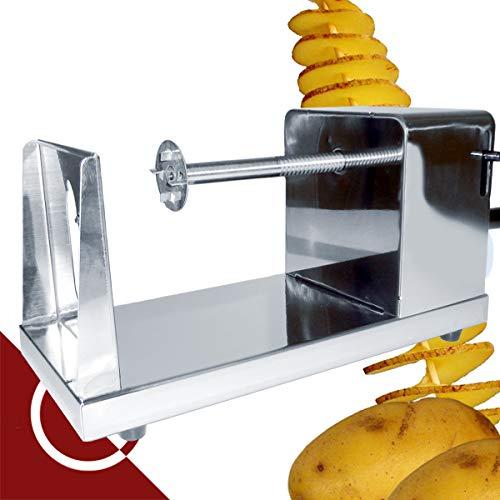 KARTOFFEL SPIRALSCHNEIDER/Kartoffelschneider z.B. für Spiralpommes Frites von GASTROQUIK