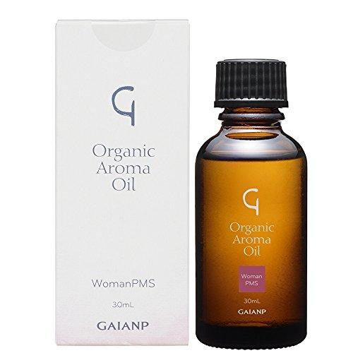 GAIA NP (ガイアエヌピー) Organic Aroma Oil (オーガニック アロマオイル)ウーマンPMS 30ml 【天然精油配...