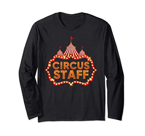 Circus Staff Disfraz Carnaval Personal de Circo Hombre Mujer Manga Larga