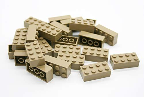 LEGO® Klocki: 25 x ciemne brązowe 2 x 4-biegunowe części 3001 wymiary (dł. x szer. x wys.) : 1,6 cm x 3,2 cm x 1,1 cm darmowa przesyłka w Wielkiej Brytanii wykonana z zestawów Dostarczane w zamkniętym opakowaniu z cegieł i płyt bazowych