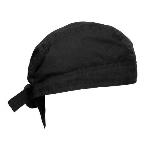 PREMIER - Cappellino da Chef (Taglia Unica) (Nero)