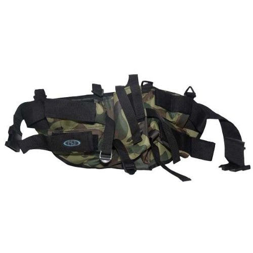 New Legion Paintball Zubehör Battle Pack 4+1 Horizontal, Camo, 54329