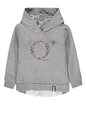 Marc O' Polo Kids Mädchen 1/1 Arm Sweatshirt, Grau (Softgrey Melange|Gray 8200), (Herstellergröße: 104)
