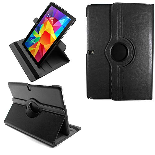 COOVY® 2.0 Cover für Samsung Galaxy Note PRO 12.2 SM-P900 SM-P901 SM-P905 Rotation 360° Smart Hülle Tasche Etui Hülle Schutz Ständer | schwarz