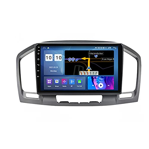 ADMLZQQ Android Autoradio 2 DIN for Opel Insignia 2008-2013 9'' Car Radio Touchscreen RDS Backup Camera GPS Plug And Play 5G WiFi SWC Carautoplay Support DVR/Dab+/OBDII ETC,M600s