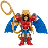 Includes WONDER WOMAN figure, flight suit, and lasso Press the Power Pad on the back of flight suit to activate wings Collect additional DC Super Friends for even more crime-fighting fun! (Each sold separately and subject to availability.)