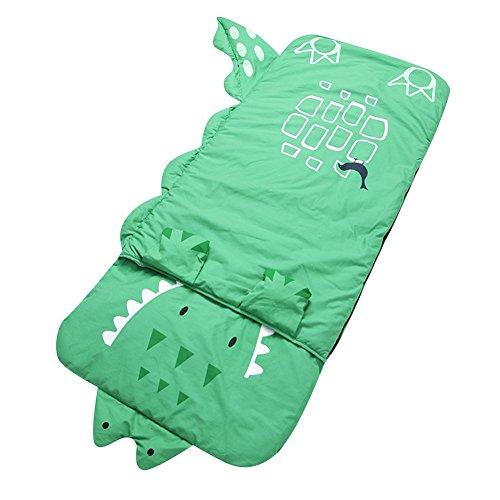 Le SSara Enfants garçon et fille dessin animé gros sac de couchage nids d?ange 140 cm * 60 cm (C -vert crocodile)