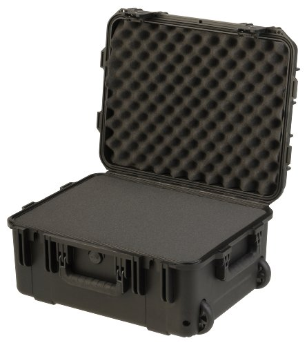 SKB 3I-1914-8BTC Mil-Std Waterproof Case with Wheels and TSA Latches and Cubed Foam, Multi