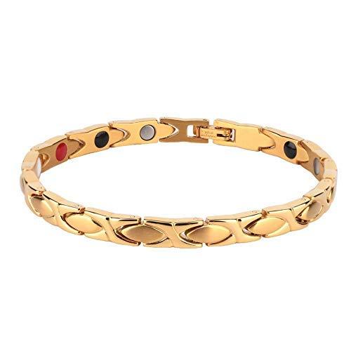 Genezing Sieraden Magnetische Therapie Antivermoeidheid Afvallen Armband Bangle Gift Mode Pols Armband voor Mannen & Vrouwen