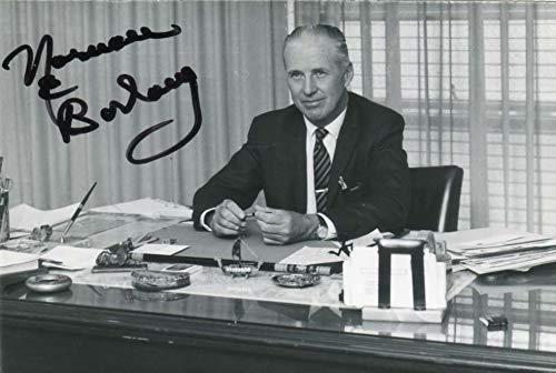 Norman Ernest Borlaug original Autogramm/Autograph/signiert