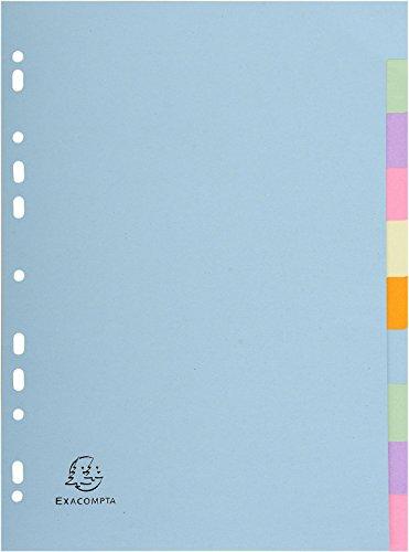 Forever einfarbige Trennblätter, verschiedene Pastellfarben, 10-teilig