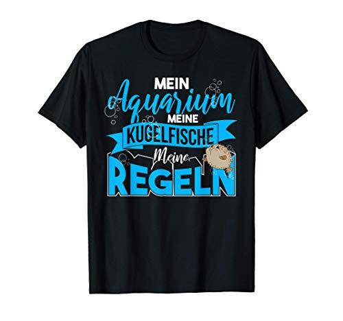 Aquaristik Meeresfisch Aquarium Kugelfisch T-Shirt