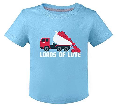 Saint Valentin - Loads of Love - Naissance T-Shirt Bébé Unisex 18M Bleu Ciel