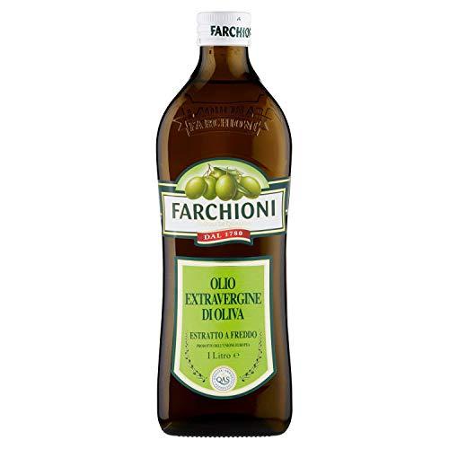 1x Farchioni Il casolare grezzo naturale 1L Extra nativ Natives Olivenöl olio oliva + 1x De Cecco Classico Extra Natives nativ Olive Olivenoel 250ml olio vergine oliva