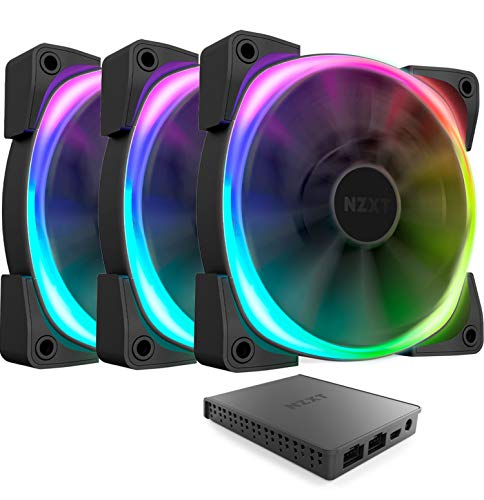 NZXT AER RGB 2-120mm Computer Case Fans (3 Pack)