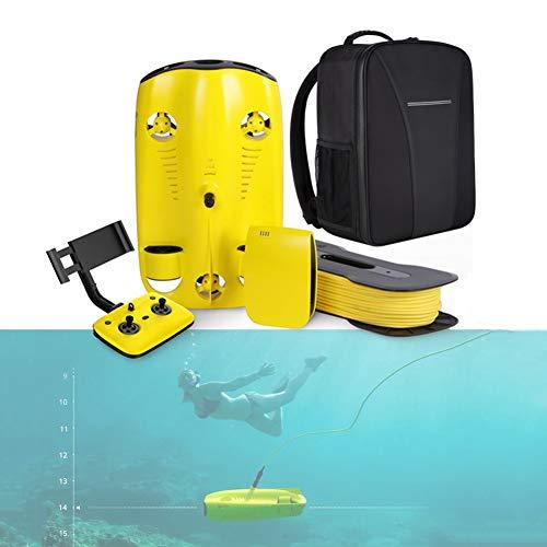 Stoge Drone Submarino, Control Remoto Visual 4K de Ultra Alta definición, cámara submarina, Submarino, Pesca Profesional, monitoreo de cría, Rescate Submarino, Robot Submarino