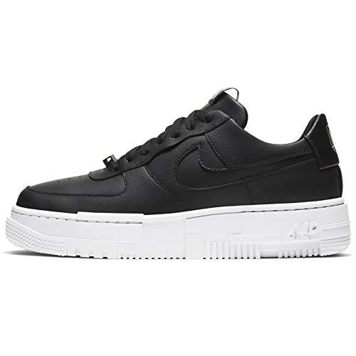 Nike Air Force 1 Pixel Womens Casual Moda Sneaker Ck6649-001, nero (nero/bianco-nero.), 44.5 EU