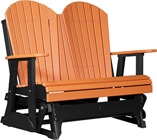 LuxCraft 4' Adirondack Glider - Available in 20 Colors