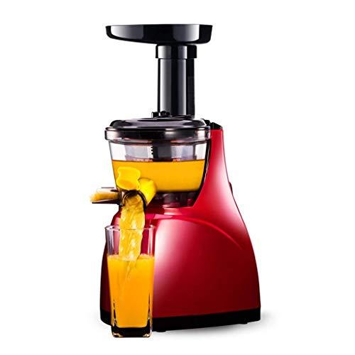 Exprimidor doméstico Máquina automática de cocción de frutas y verduras Multifunción Máquina pequeña original de jugo Separador eléctrico de jugo de escoria de baja velocidad Cocina Suplemento aliment