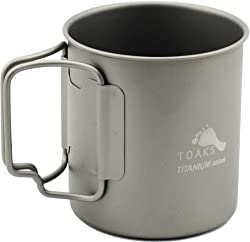 gift ideas for hiking -  titanium cup