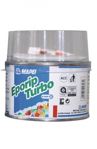 Mapei Eporip Turbo 2-K-Klebeharz 1 kg - zum Schließen von Rissen & Scheinfugen in Estrichen - Herstellung von Mörteln - für Kleinreparaturen