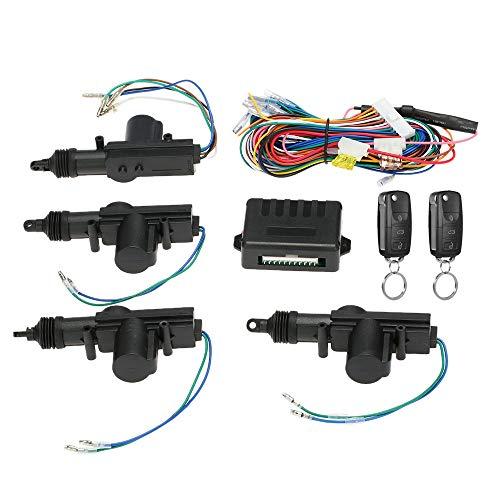 Festnight Auto Alarmanlagen Auto Fernbedienung Zentralverriegelung T/ürschloss Fahrzeug Keyless Entry System
