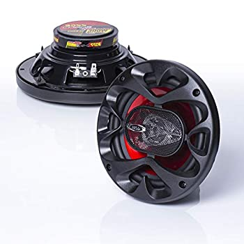 BOSS Audio Systems CH6530 Car Speakers - 300 Watts of Power Per Pair and 150 Watts Each 6.5 Inch Full Range 3 Way Sold in Pairs