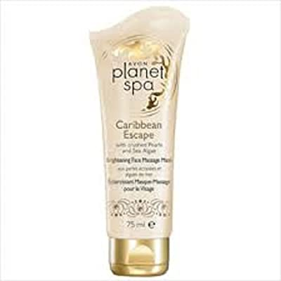 Planet Spa Caribbean Escape with crushed Pearls and Sea Algae Brightening Face Massage Mask from AVON