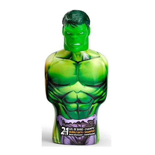 Marvel - marvel hulk shower gel & shampoo 475ml