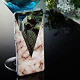 WEIHONG Coque TPU Soft Marble Pattern for Huawei P30 Pro