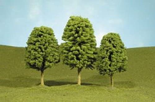 Bachmann Trains inches 4 inches Deciduous Trees 3 Per Box by Bachmann Industries