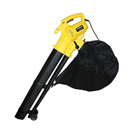 Inicio AccesoriosSoplador de hojas eléctrico 3 en 1 liviano con bolsa de recolección de 35L Soplador de jardín de 3000W y aspiradora y trituradora para hojas Astillas de madera Escombros (tamaño