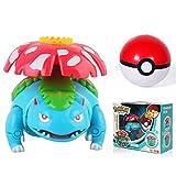 Pokemon Pokeball Ivysaur Bulbasaur Carry Ball Figuras De Acción, Figura De Anime Monstruo De Bolsillo Variante Modelo Set PVC Juguetes para Niños Regalo