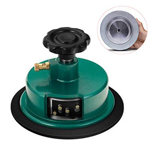 Fabric Sampler Cutter, High Precision 100 Sqcm Round Cloth Sample Disk Cutter, Fabric Weight Cutter,Textile Fabric GSM Sampling for Cloth Device Weight Instrument Sampler Paper Cutting (Green)