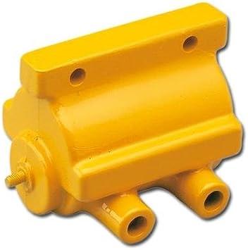 HARLEY DAVIDSON-Accel Power Pulse Coil Para modelos de 12 voltios con encendido a chinchetas o electrónica Prestolite desde 65-79 (4,2 ohmios resistencia primaria)-La bobina Accel proporciona mayor du