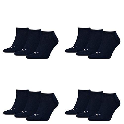 Puma Unisex Sneaker Sportsocken 12 x Paket (43-46, navy)