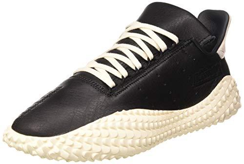 adidas Kamanda, Zapatillas de Gimnasio Hombre, Core Black/Off White/Blue, 40 2/3 EU
