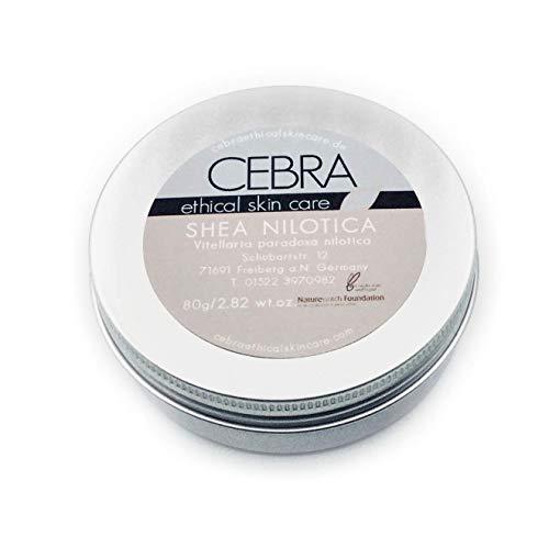 Bio Shea Nilotica Butter für trockene Haut Gesichtspflege Körperbutter